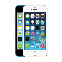 Apple iPhone 5S 16GB Silver  GSM Unlocked Black and White